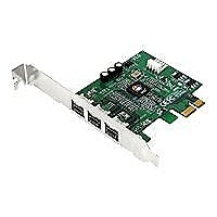SIIG DP FireWire 800 PCIe - FireWire adapter