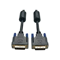 Tripp Lite 15ft DVI Dual Link Molded TMDS Monitor Cable DVI-D M/M 15'