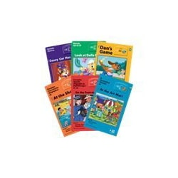 Interactive Decodable Series Reading Center: Levels 1–6 Complete Book Set -