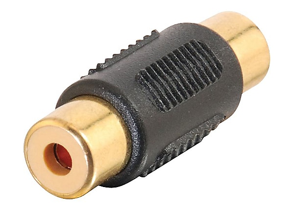 C2G RCA F/F Gold Coupler - video / audio coupler