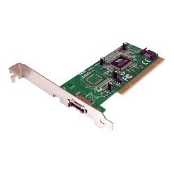 StarTech.com 1 Port eSATA + 1 Port SATA PCI SATA Controller Card w/ LP BRac