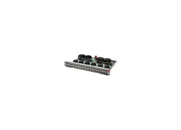 Cisco Line Card - switch - 48 ports - plug-in module
