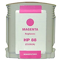 Clover Remanufactured Ink for HP 88XL (C9392AN), Magenta, 1,980 page yield
