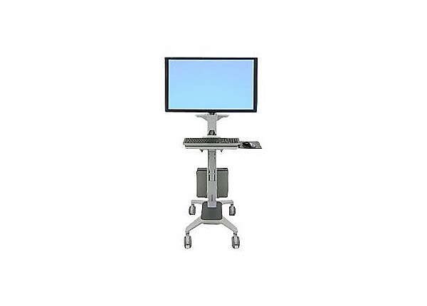 Ergotron Neo-Flex WideView WorkSpace - cart