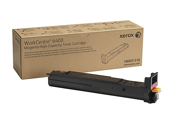 Xerox WorkCentre 6400 - High Capacity - magenta - original - toner cartridg