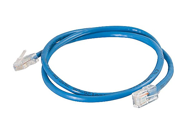 C2G Cat5e Non-Booted Unshielded (UTP) Network Patch Cable - patch cable - 2