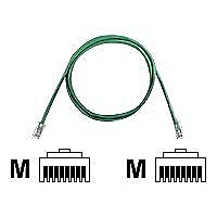 Panduit TX5e patch cable - 14 ft - green