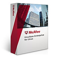 McAfee VirusScan Enterprise for Linux - license + 1 Year Priority Support P