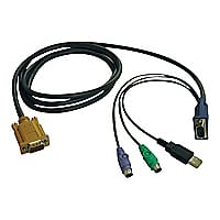 Tripp Lite KVM Combo Cable for B020-U08/U16 & B022-U16 6ft USB / PS/2 6'