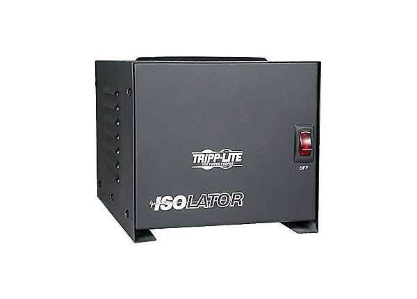 Tripp Lite Isolation Transformer 1000W Surge 120V 4 Outlet 6ft Cord TAA GSA