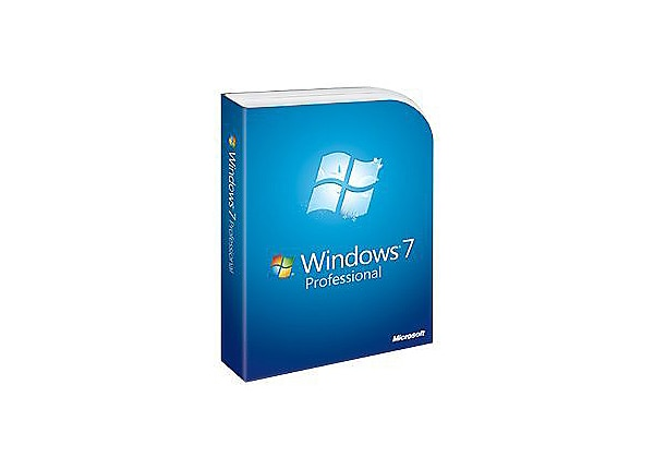 Microsoft Windows 7 Professional - license and media