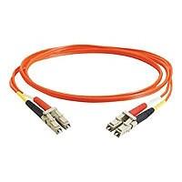 C2G 4m LC-LC 62.5/125 OM1 Duplex Multimode PVC Fiber Optic Cable - Orange -