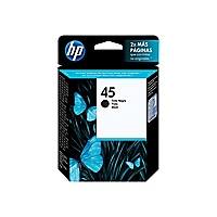 HP 45 - black - original - ink cartridge