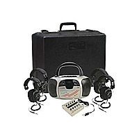 Califone 4-Person Spirit Learning Center 1776PLC - boombox - CD