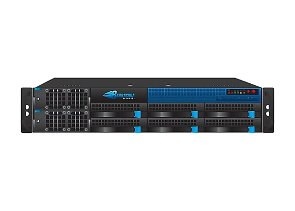 Barracuda Email Security Gateway 1000 - e-mail security appliance - with 1 year Energize Updates
