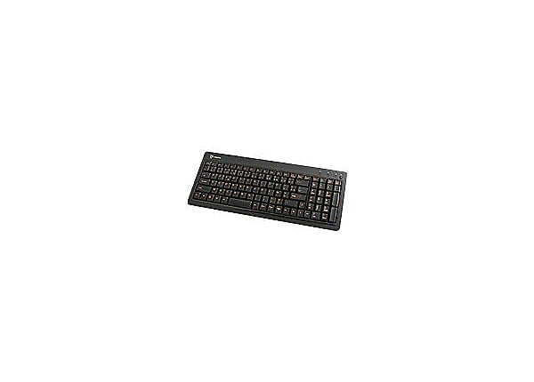 I-Rocks KR-6820E-WH Compact LED Back-lit Slim USB Keyboard