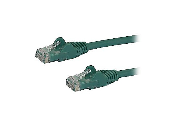 StarTech.com 5 ft Green Cat6 / Cat 6 Snagless Patch Cable 5ft - patch cable