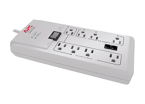 APC SurgeArrest Power-Saving Home/Office - surge protector