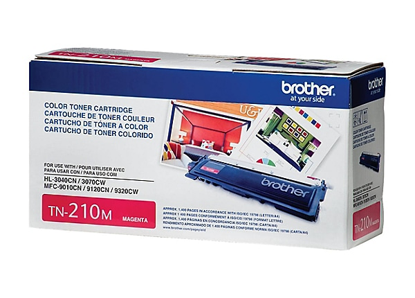 Brother TN-210M - magenta - original - toner cartridge