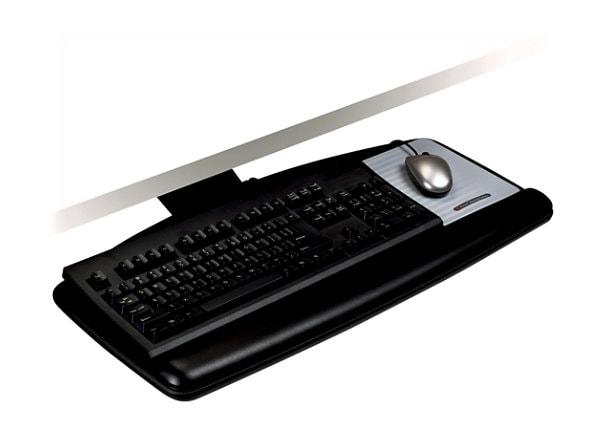 3M Knob Adjust Keyboard Tray AKT60LE - keyboard/mouse shelf