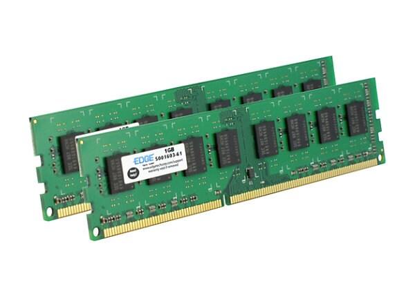 EDGE - DDR3 - 8 GB: 2 x 4 GB - DIMM 240-pin - unbuffered
