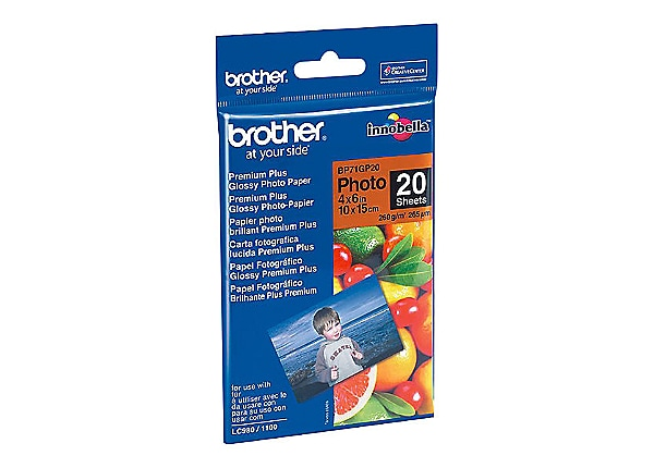 Brother BP - photo paper - 20 sheet(s) -