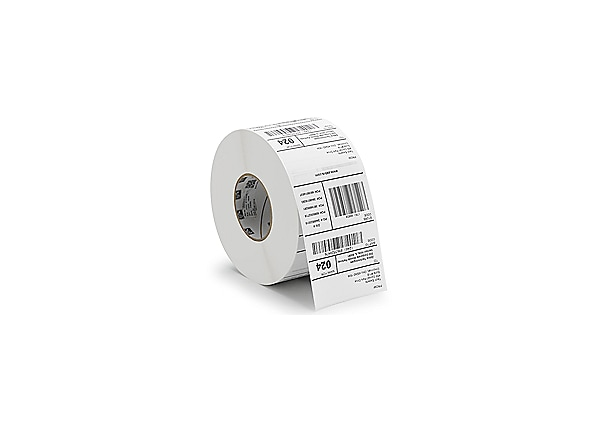 Zebra Receipt Paper, 2in x 574ft, Direct Thermal, Z-Perform 1000D 2.4 mil