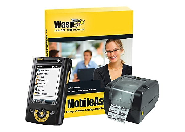 Wasp MobileAsset Enterprise with WPA1000II Mobile Computer & WPL305 Printer