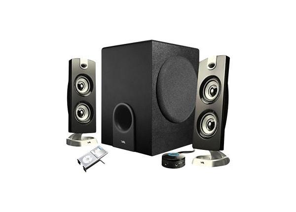 Cyber Acoustics CA-3602 - système de haut-parleur - pour PC