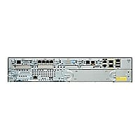 Cisco 2911 Voice Bundle - router - voice / fax module - rack-mountable