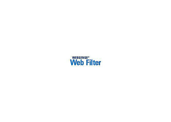 Forcepoint Web Filter - subscription license (1 year) - 1000 additional sea