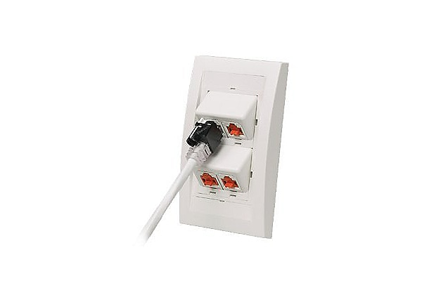 Panduit Recessed Lock-in Device - outlet port lock kit