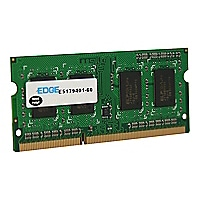 EDGE - DDR3 - 2 GB - SO-DIMM 204-pin - unbuffered