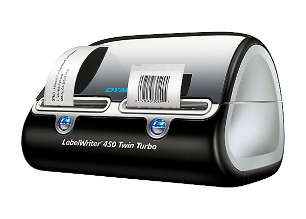 DYMO LabelWriter 450 Twin Turbo - label printer - monochrome - direct therm