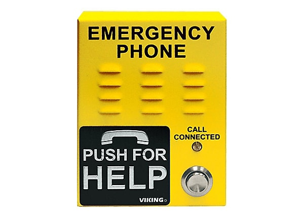 Viking Electronics Emergency Phone Compact Vandal Resistant