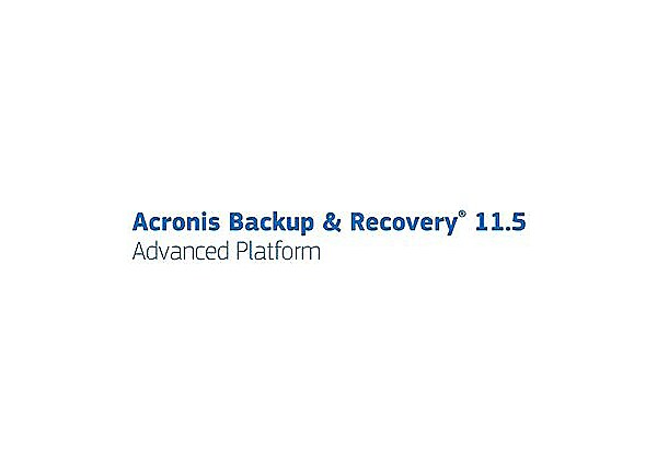 Acronis Advantage Premier - technical support - for Acronis Backup & Recove