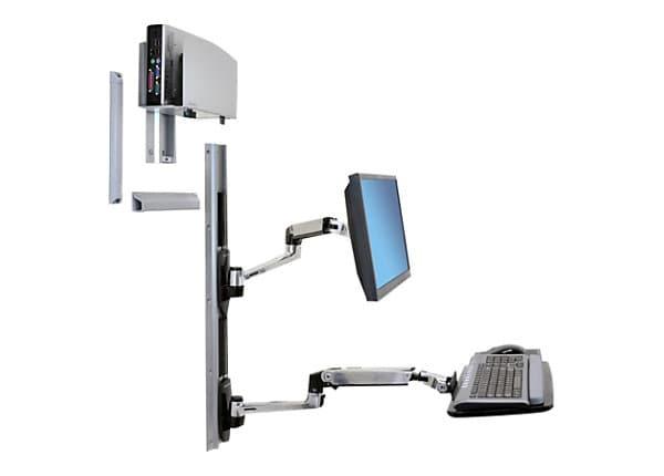 Ergotron LX Wall Mount LCD Display Arm   45 247 026   Mounts U0026 Carts    CDW.com