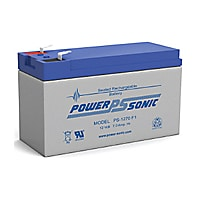 Power-Sonic PS-1270 F1 Sealed Lead Acid Battery 12V 7Ah