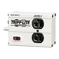Tripp Lite Isobar Surge Protector Metal 2 Outlet 6ft Cord 1410 Joules