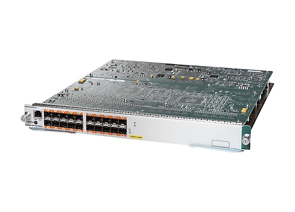 Cisco Ethernet Services Plus 20G Line Card - switch - 20 ports - managed -