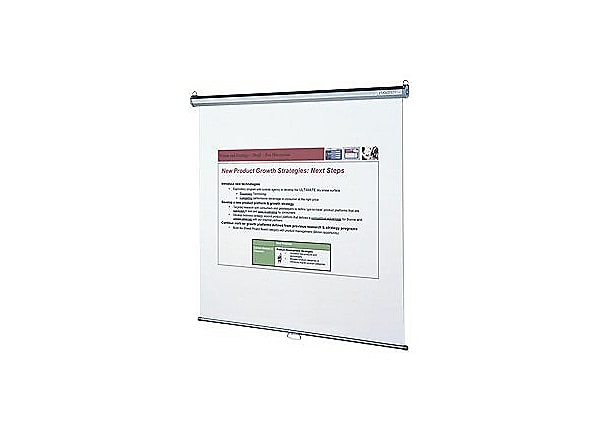 Quartet Wall or Ceiling Projection Screen 696S - projection screen