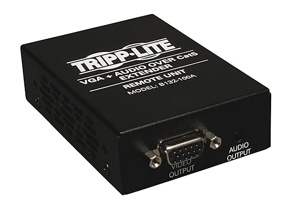 Tripp Lite VGA w/ Audio over Cat5/Cat6 Extender Receiver 1920x1440 60Hz TAA