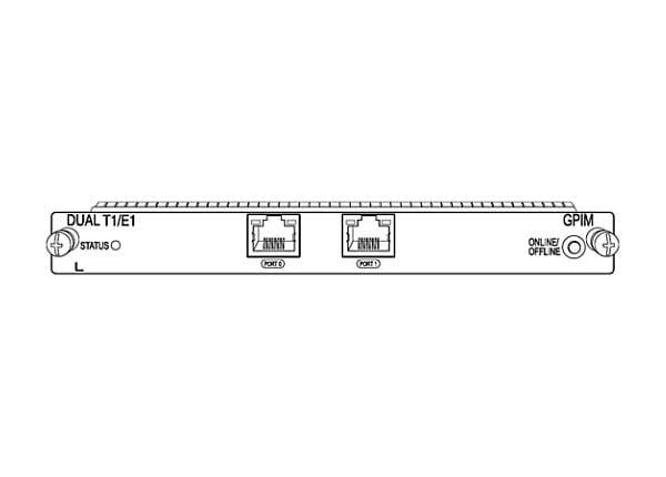 Juniper Networks Gigabit-Backplane Pluggable Interface Module - expansion m