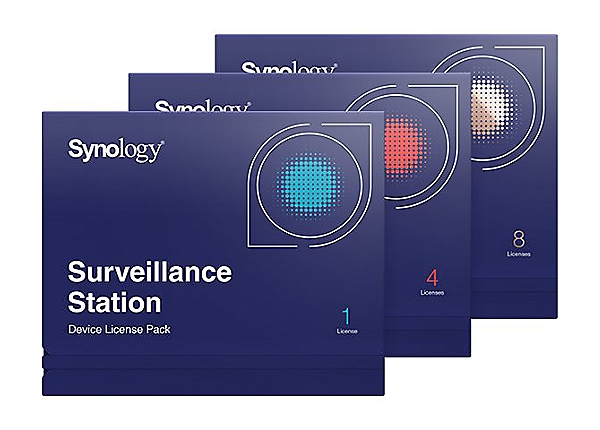 Synology Surveillance Device License Pack - license - 1 camera