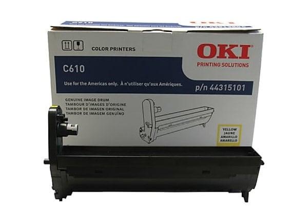 OKI - yellow - drum kit
