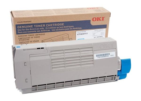 OKI - cyan - original - toner cartridge