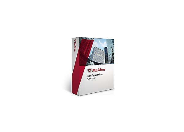 McAfee Configuration Control for Servers - license + 1 Year Gold Support -