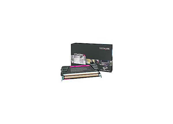 Lexmark - High Yield - magenta - original - toner cartridge - LCCP