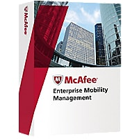 McAfee Enterprise Mobility Management - license + 1 Year Gold Support - 1 n