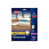 Avery Clean Edge Business Cards 5876 - business cards - 200 card(s)